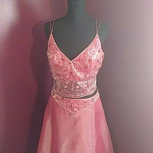 Pink Princess Prom Dress 👗 ❤️